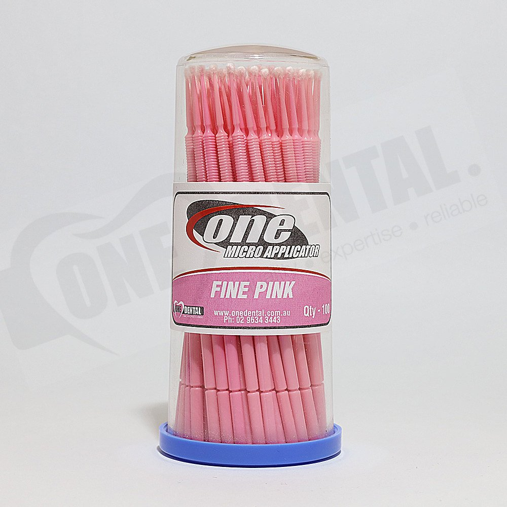 ONE Micro Applicator Fine Pink Tube 100