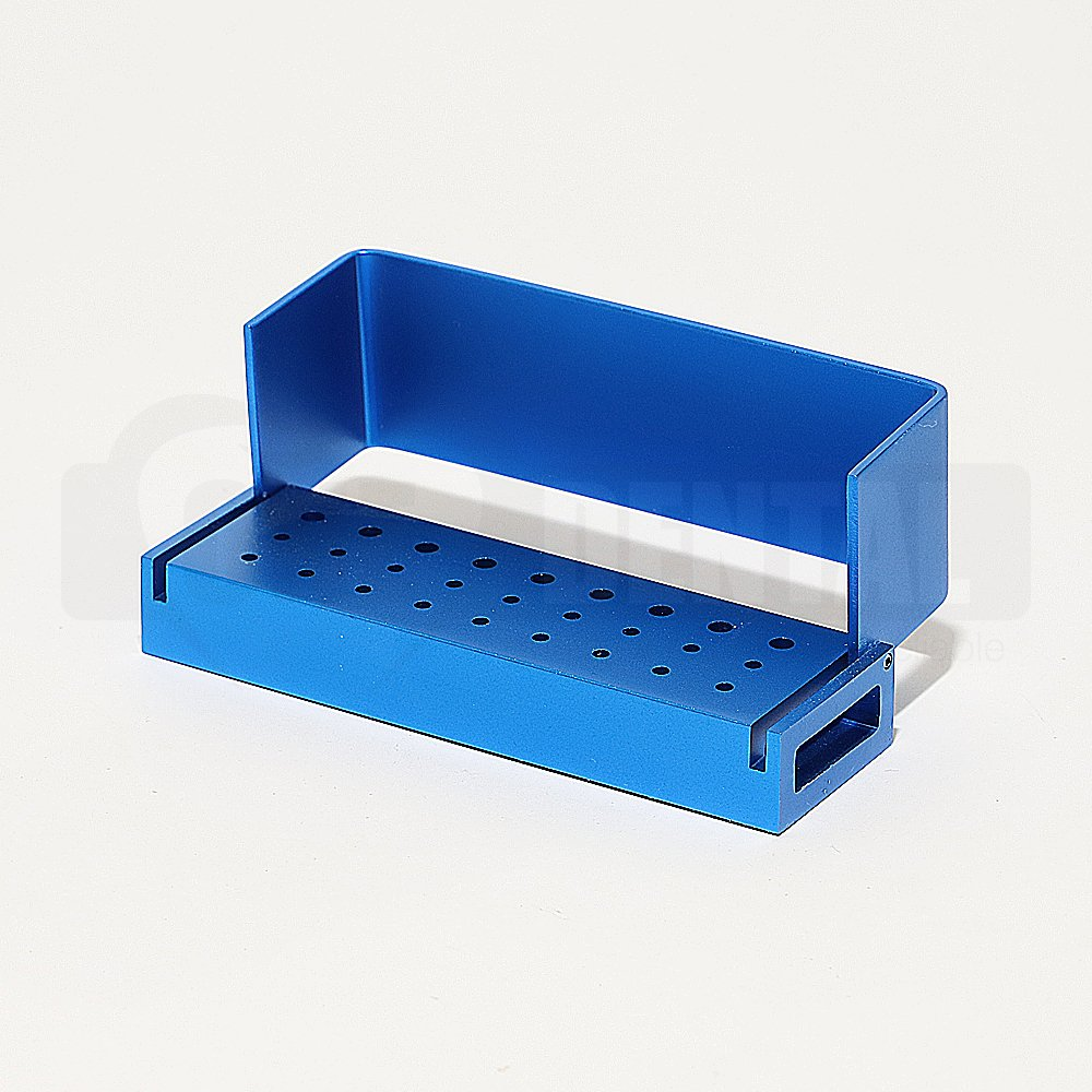 Bur Block 18FG 9RA Blue with Hinge Lid