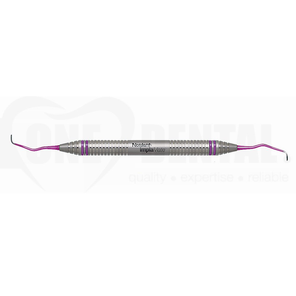 Implant Scaler DE Langer #1-2 with solid Titanium tips