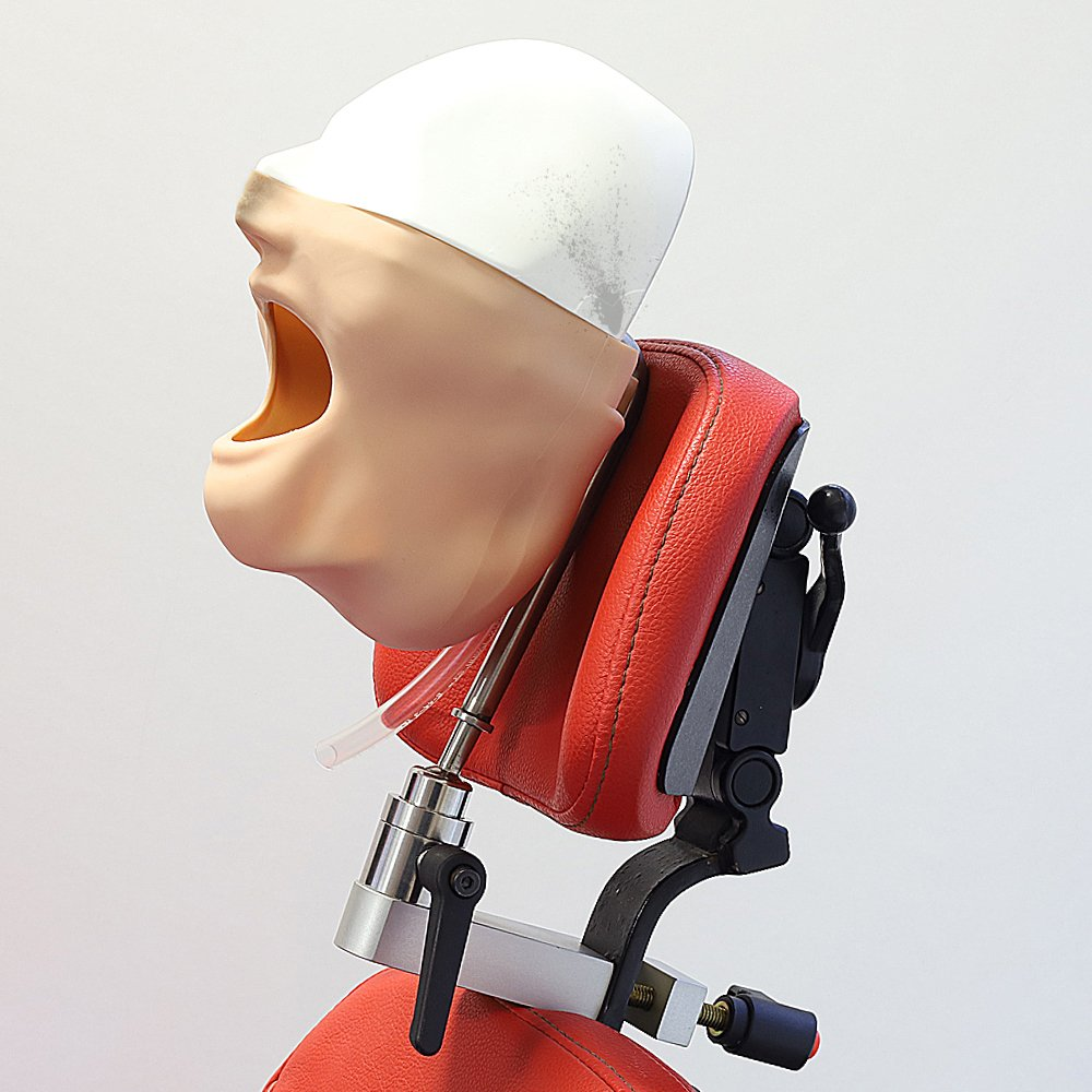 Manikin 3/4 Head MQD & Head Rest Mount Refurbished (Model not included)