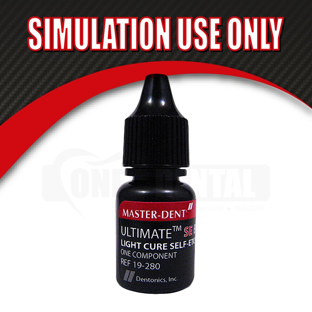 "Ultimate SE Bond 5ml LC SE Adhesive Exp Sep19 ""SIMULATION USE ONLY"""