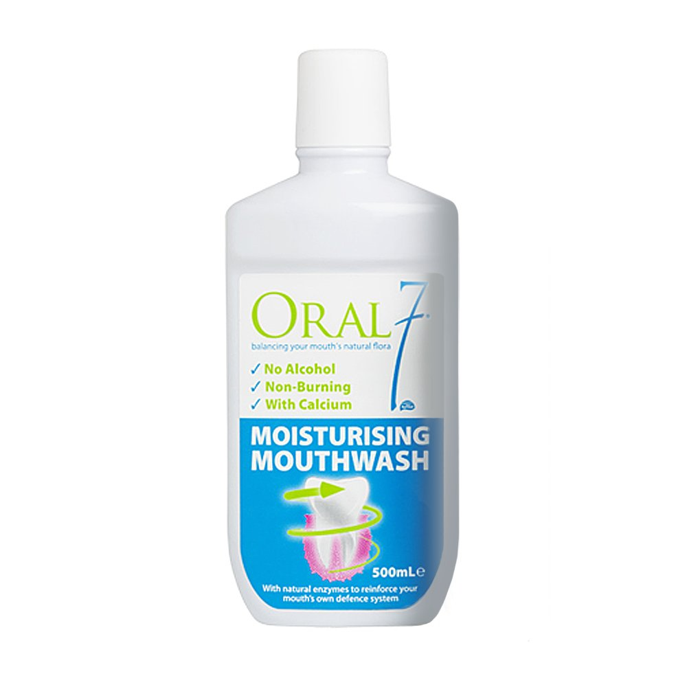 Oral 7 Moisturising Mouthwash 500ml
