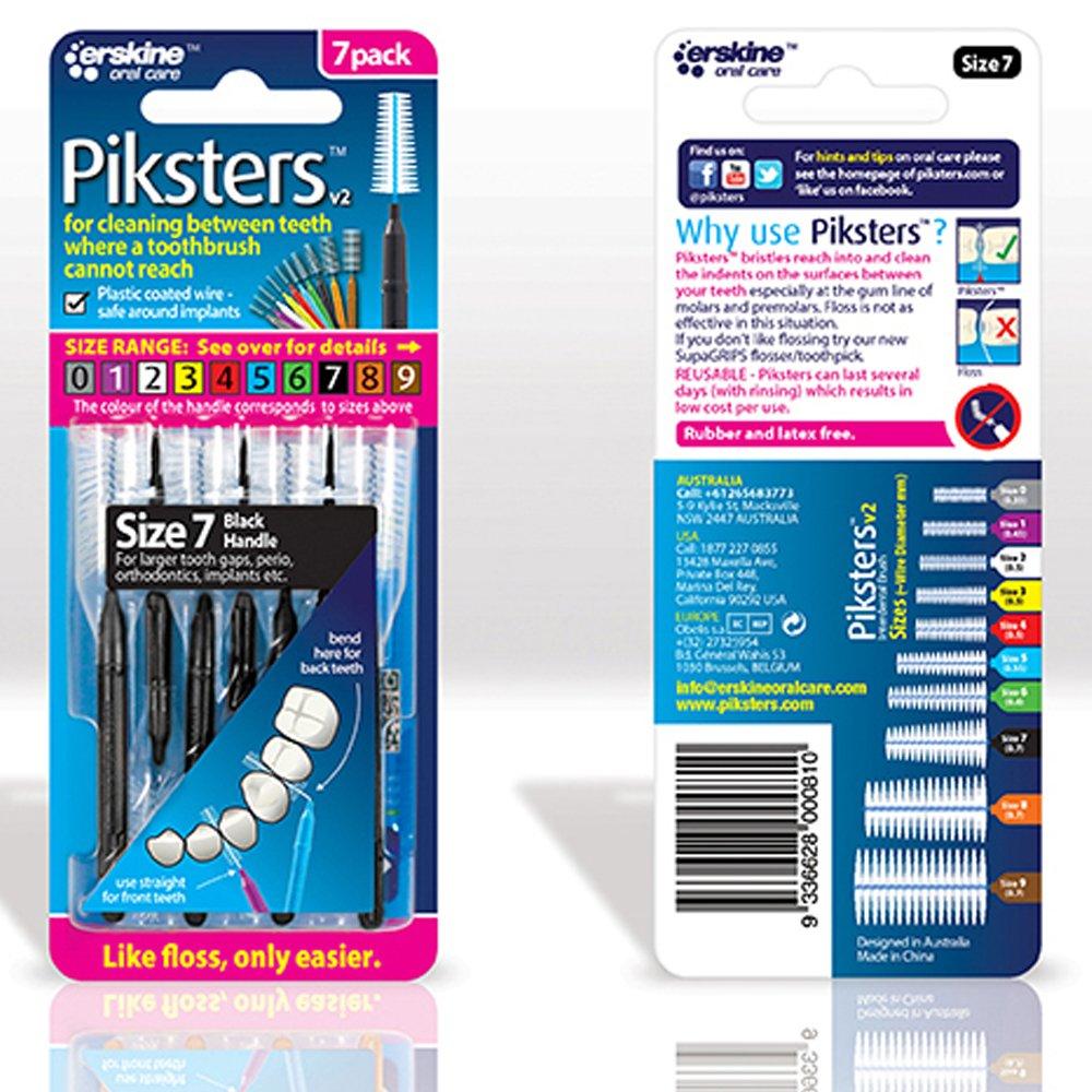 Piksters 7 Black pk 10