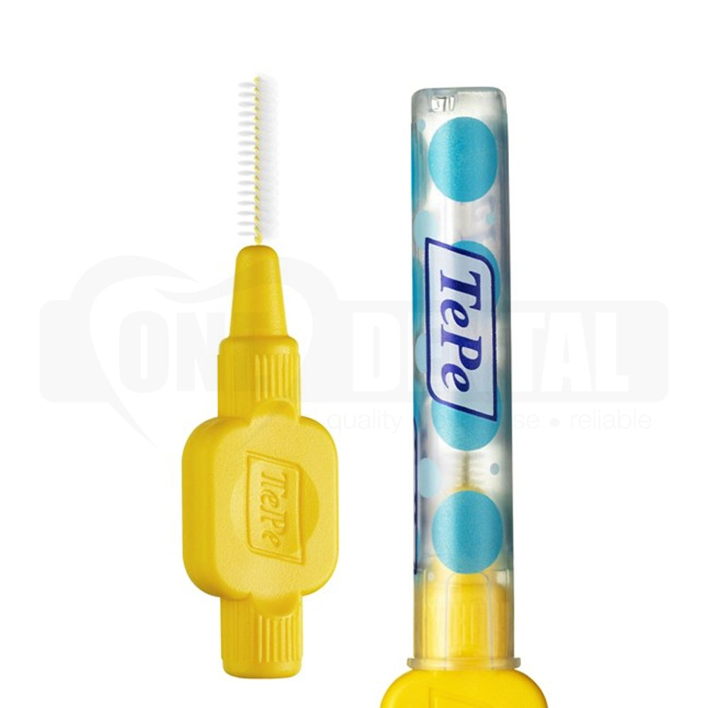 TePe Interdental Brush 0.7mm Yellow 6 Pack
