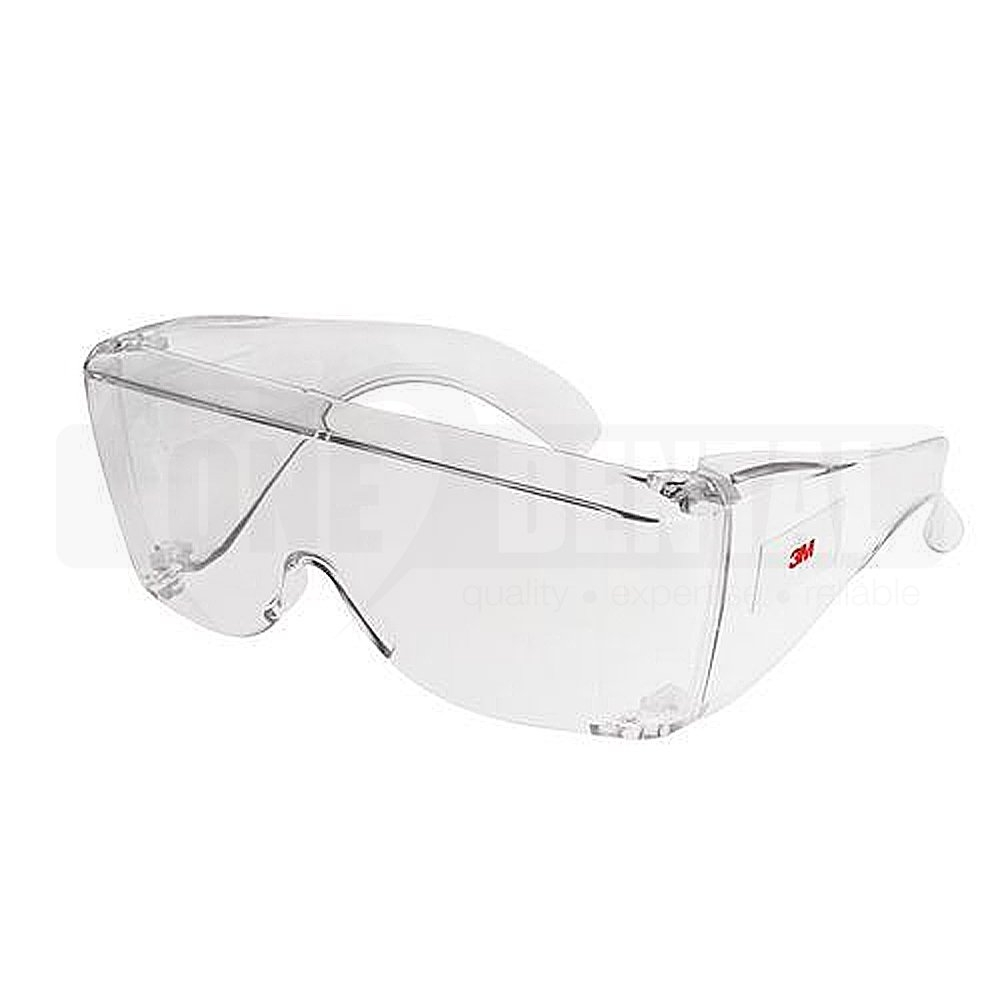 3M 2700 Overglasses clear frame/ clear lens