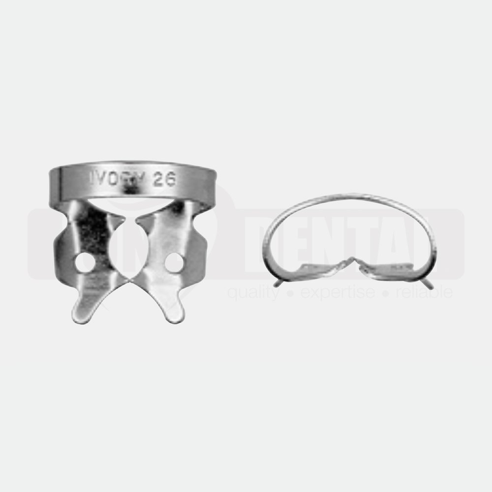 Ivory Rubber Dam Clamp 26 Lower Molar