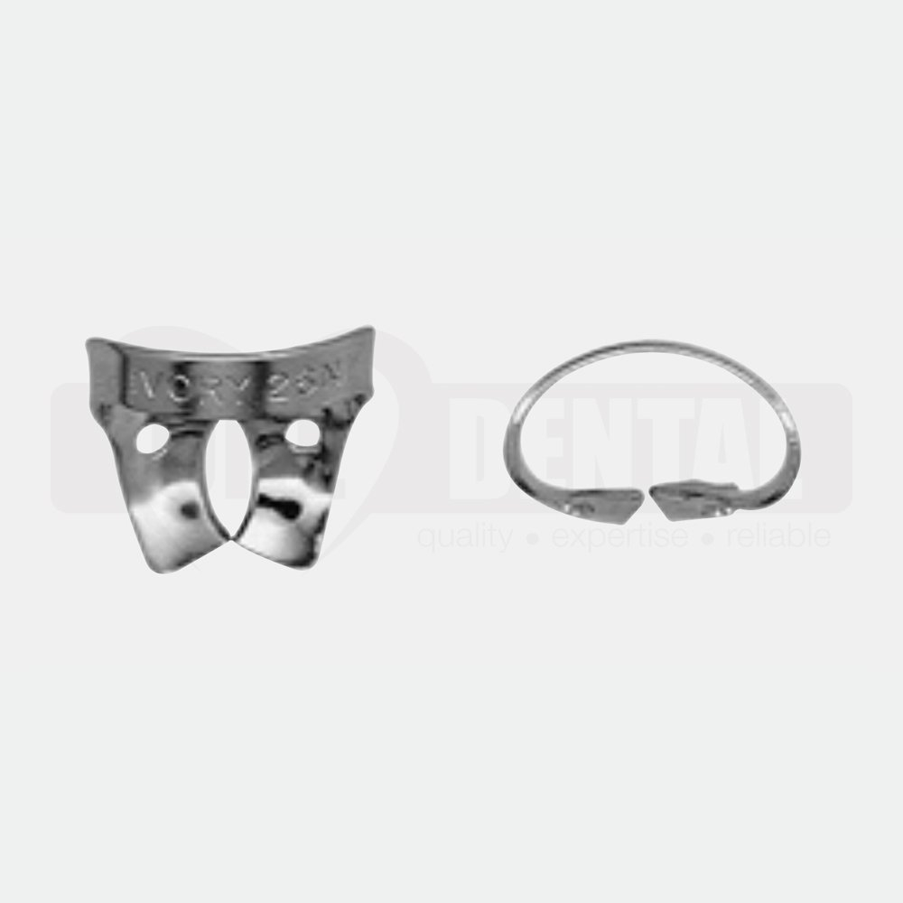 Ivory Rubber Dam Clamp 26N Upper Molar