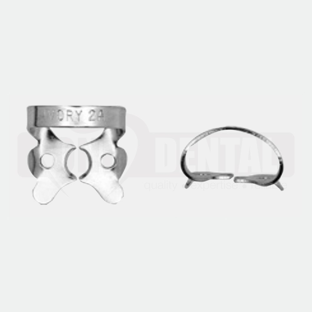 Ivory Rubber Dam Clamp 2A