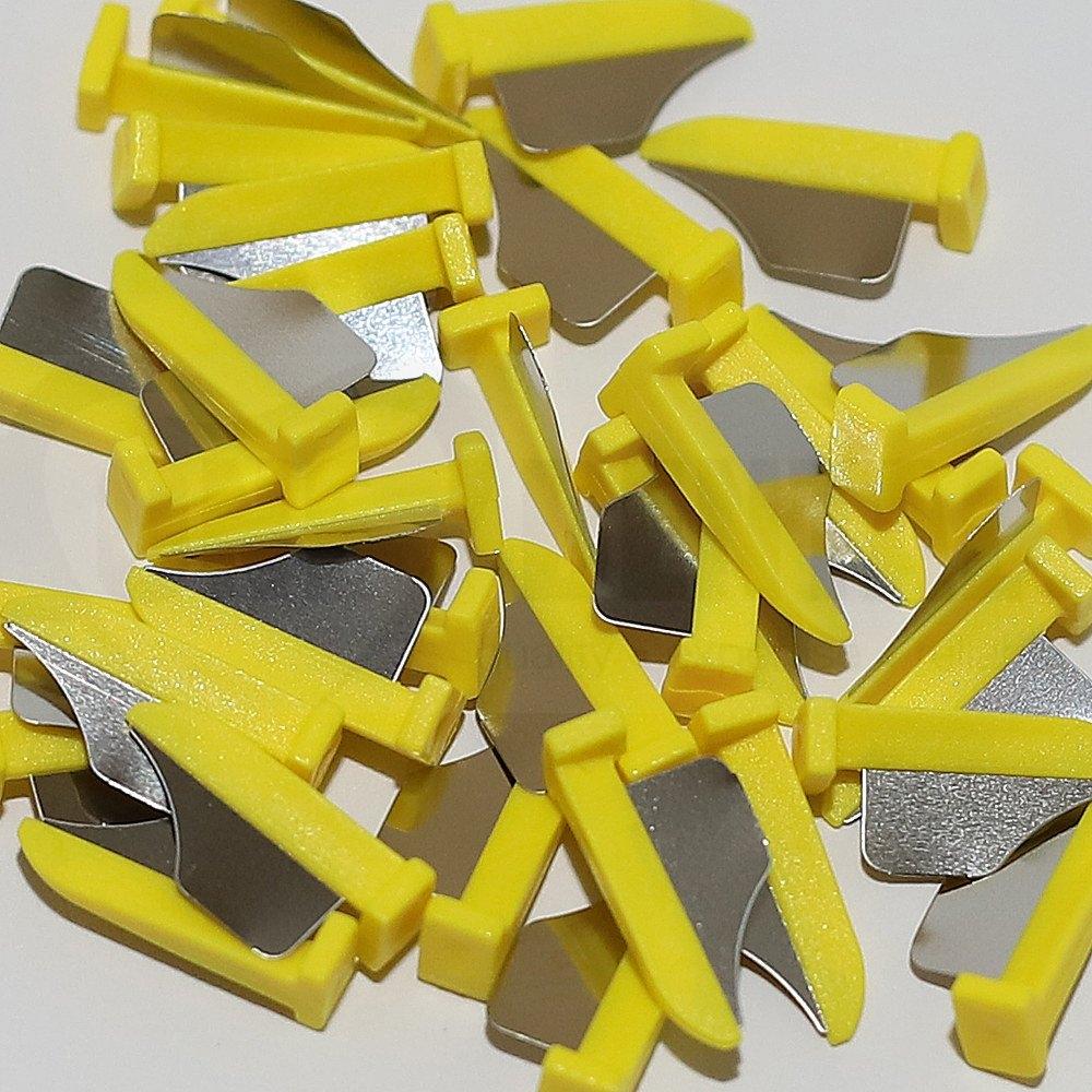 Fender Wedge Lge Yellow (100)