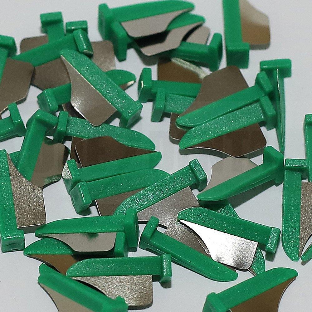 Fender Wedge Med Green (100)