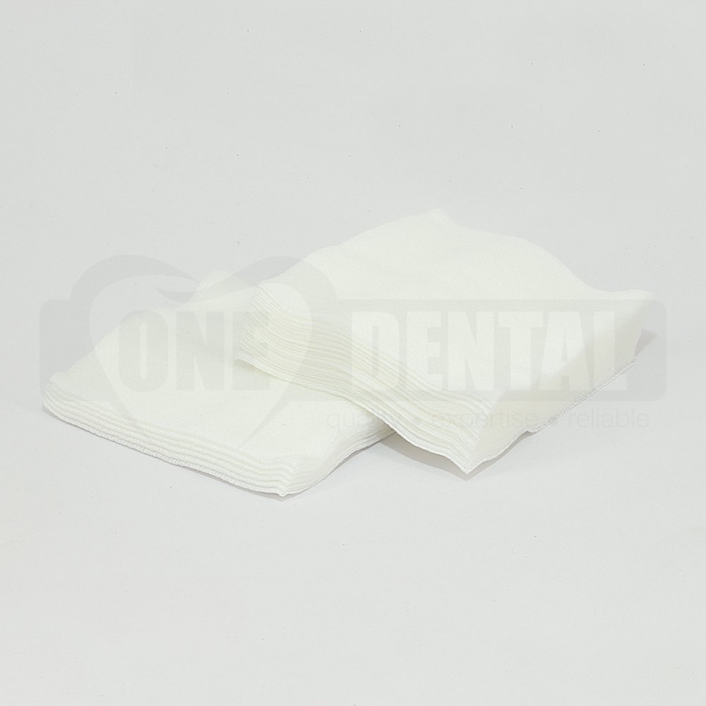 ONE Non Woven Gauze 7.5cm x 7.5cm  4ply 100pcs - Click for more info