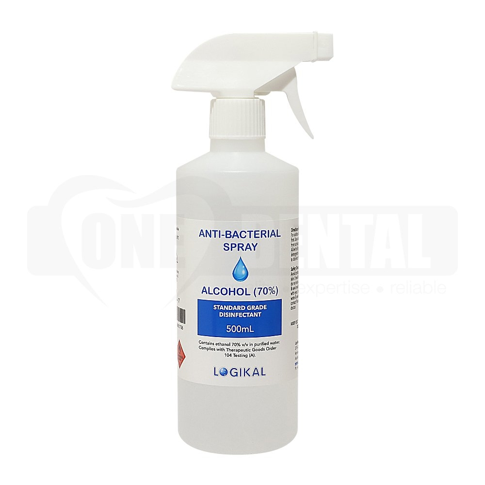 Anti-Bacterial Spray 70% BP Grade Alcohol 500ml *AUSTRALIAN MADE*