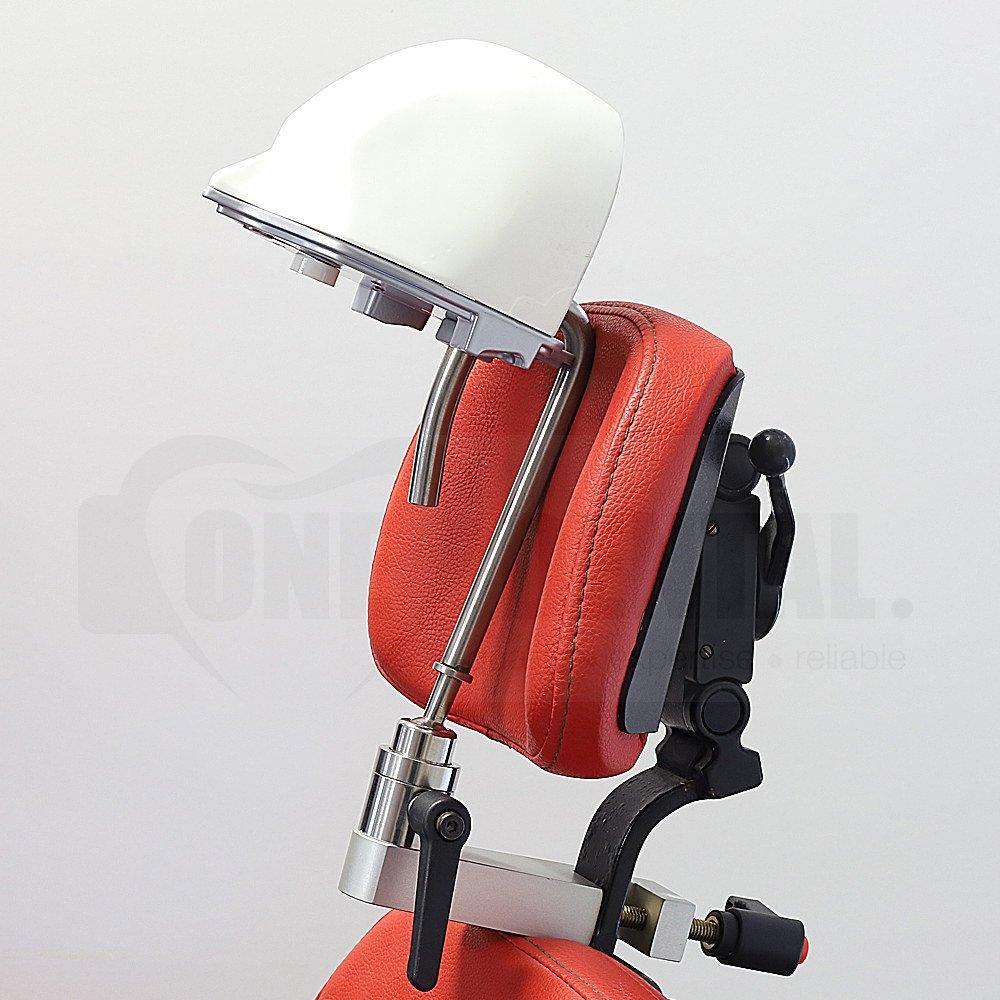 Manikin 3/4 Head Screw in & headrest mount & Drainage Mask (Model not included)