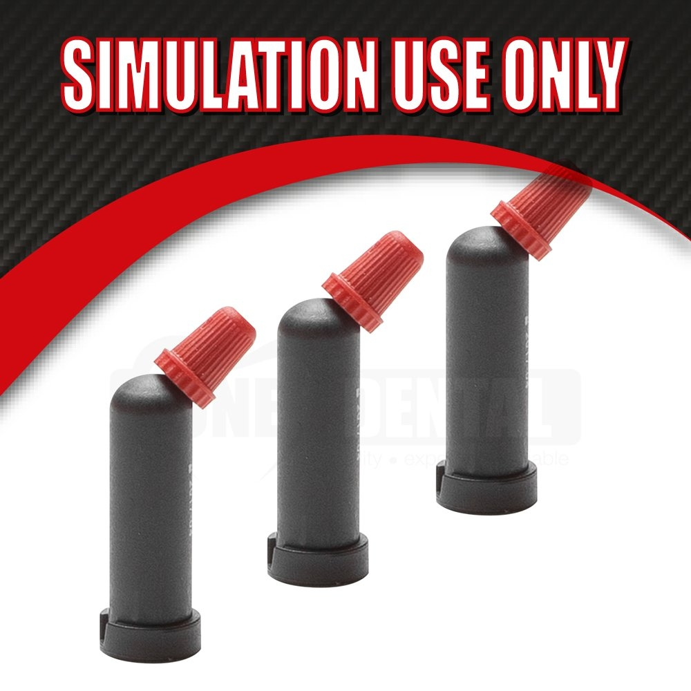 "Masterdent MICRO Composite caps A1 (20) Exp Dec18 ""SIMULATION USE ONLY"" - Click for more info"
