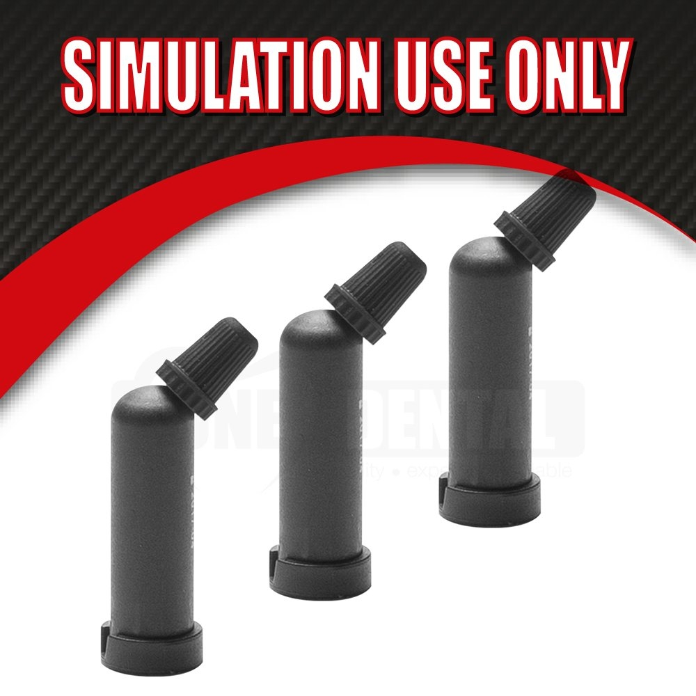 "Masterdent MICRO Composite caps A2 (20) Exp July19 ""SIMULATION USE ONLY"" - Click for more info"