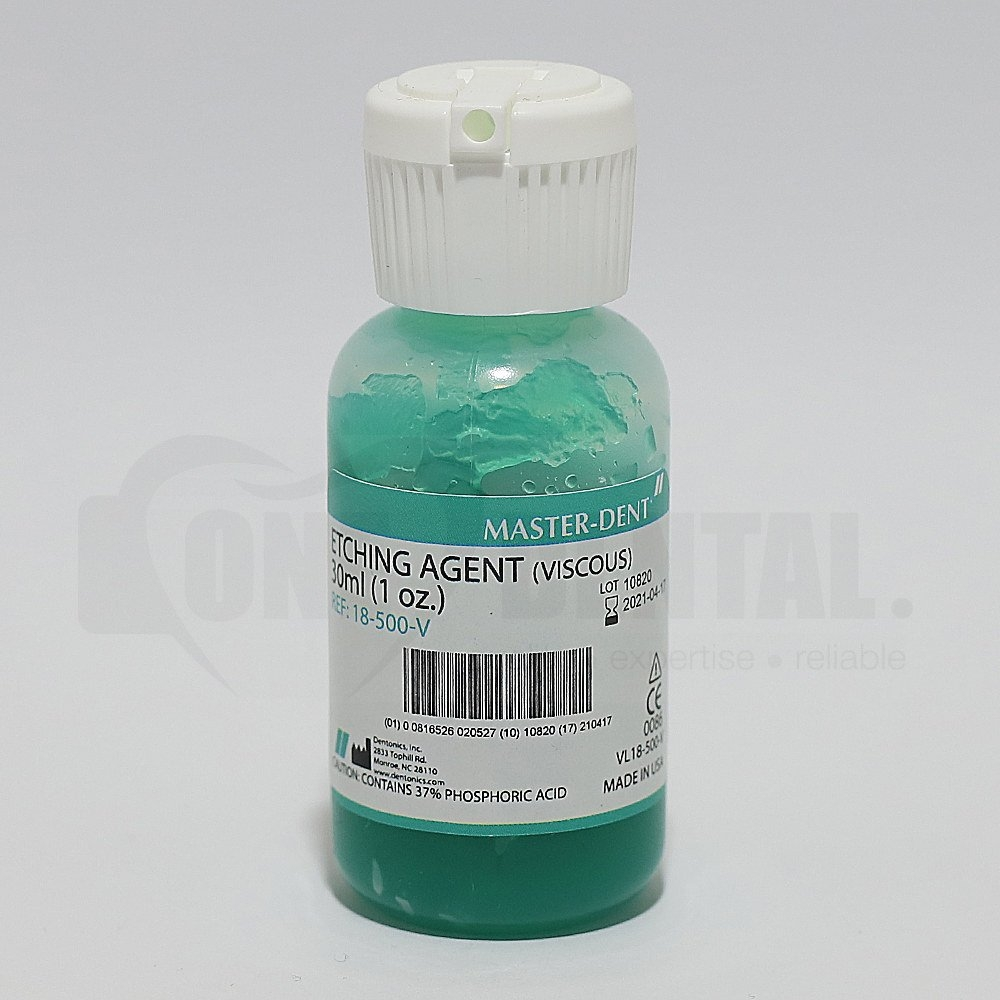 "Masterdent Etch (Viscous) 9ml bottle ""SHORT EXPIRY"" - Click for more info"