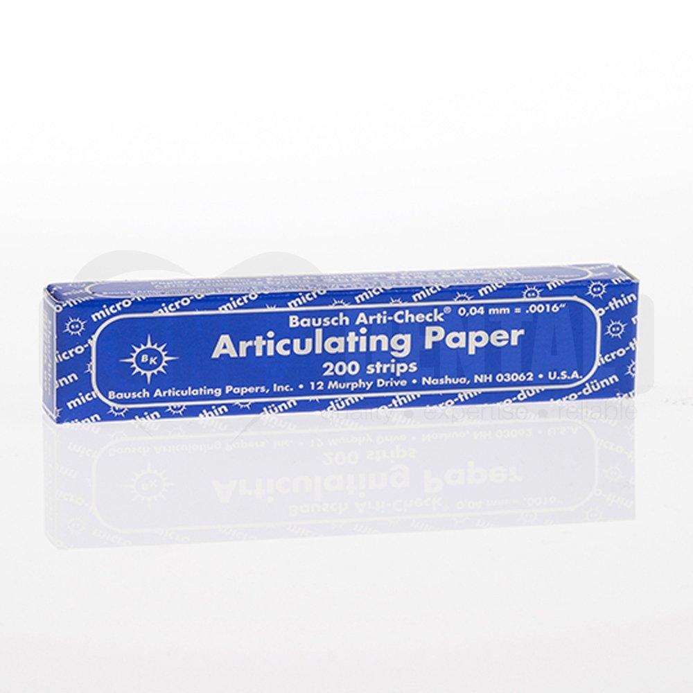 BK-09 Blue articulating paper