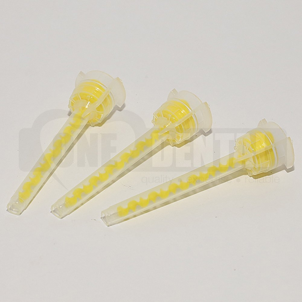Mixing Tip Yellow #4 L/V Material (Bag-50)