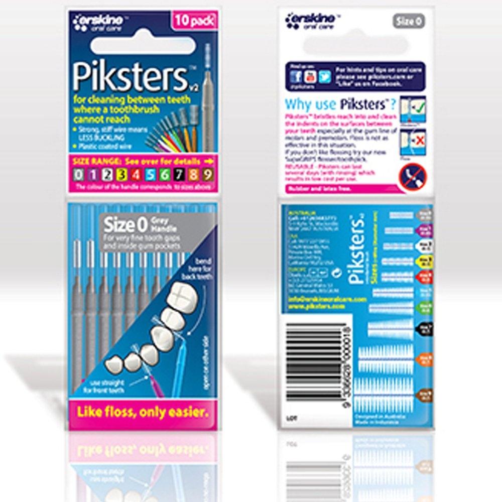 Piksters 0 Silver pk 10