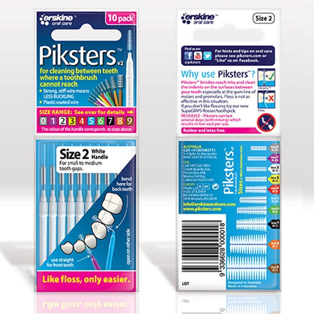 Piksters 2 White pk 10