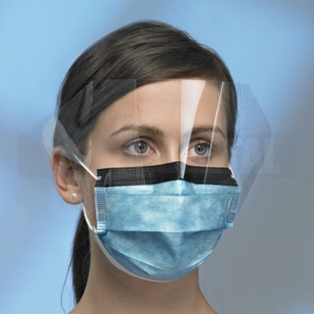 Procedural Mask, Anti-Glare, Anti-Fog, Visor, Ear loop  4 Ply Lvl 2 Box 25 - Click for more info