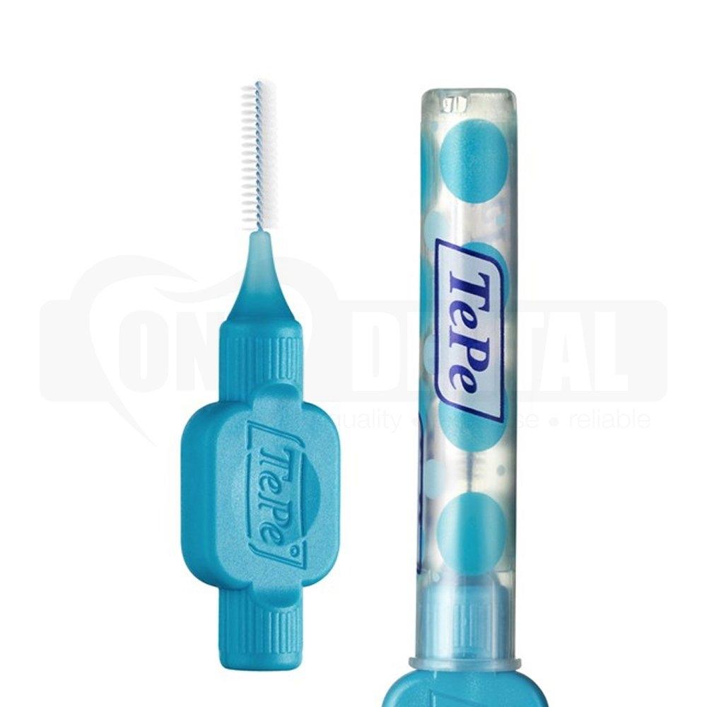 TePe Interdental Brush 0.6mm Blue 6 Pack Blister