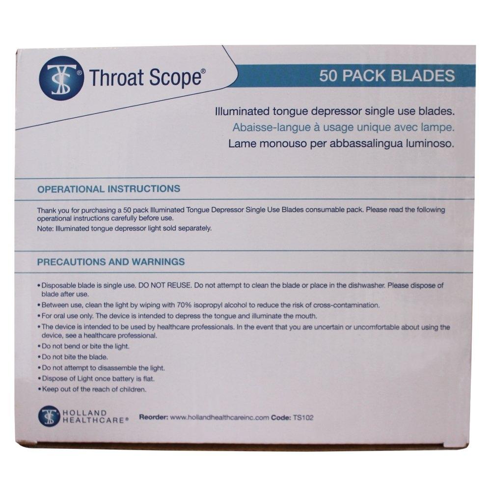 TelScope / Throat Scope Replacement Depressors (50)