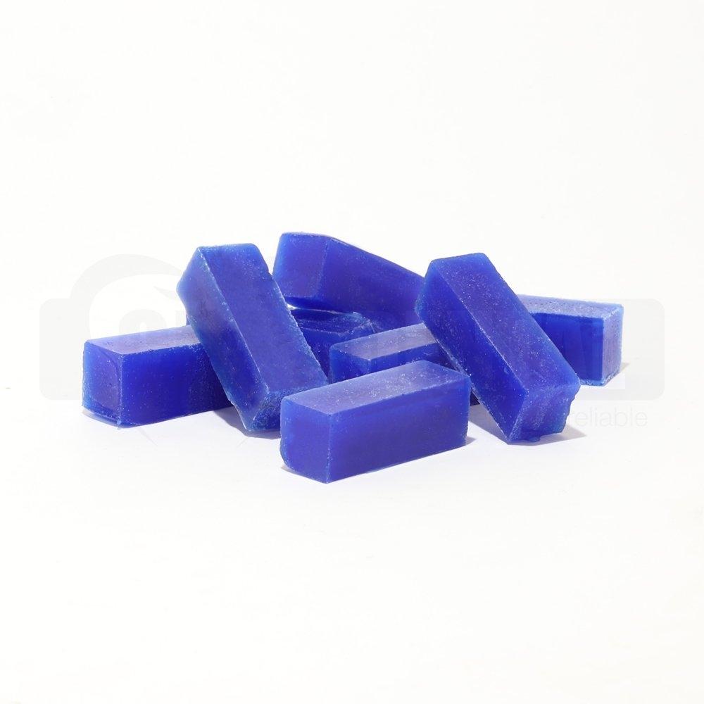 Wax Carving Blocks 1cm x 1cm x 3cm BLUE (singles)